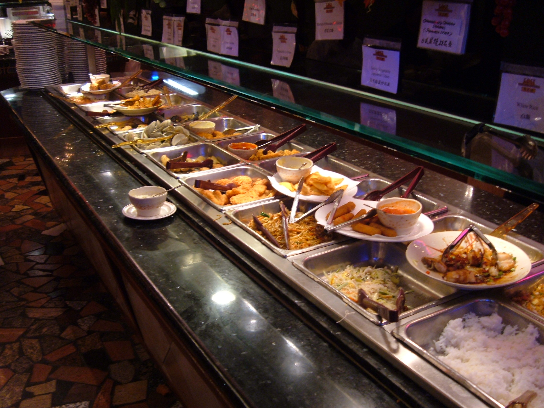 East buffet proves big money items are the way to go nyc for Table buffet