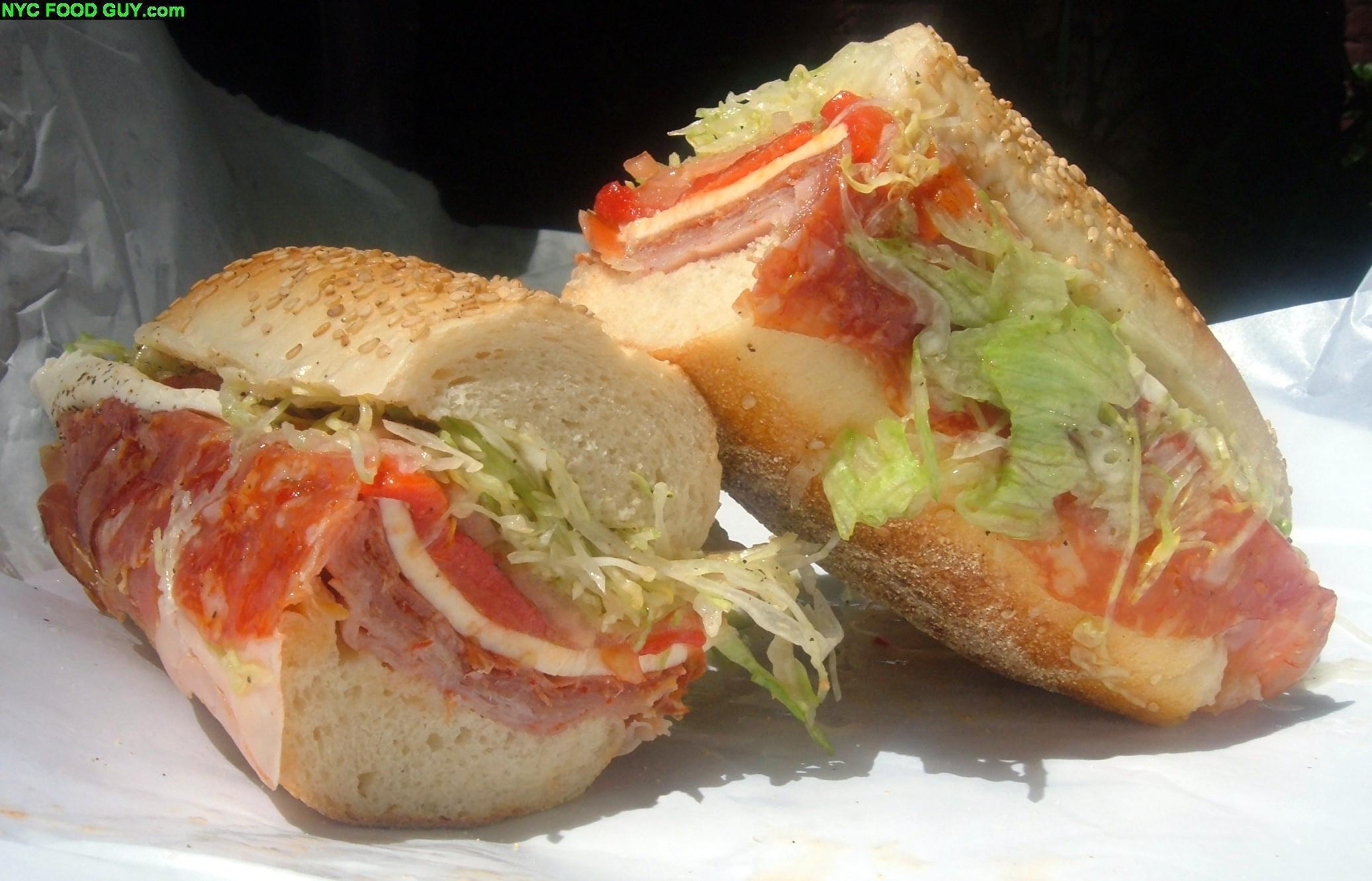 West Village Sandwiches: Faicco's Italian Hero & Crosby Connection ...