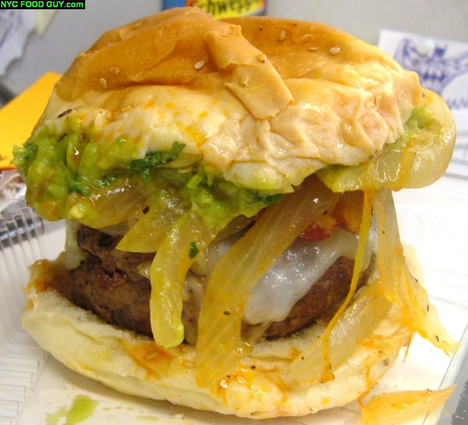 Island burgers and shakes gluttony at its finest nyc for Ted s fish fry menu