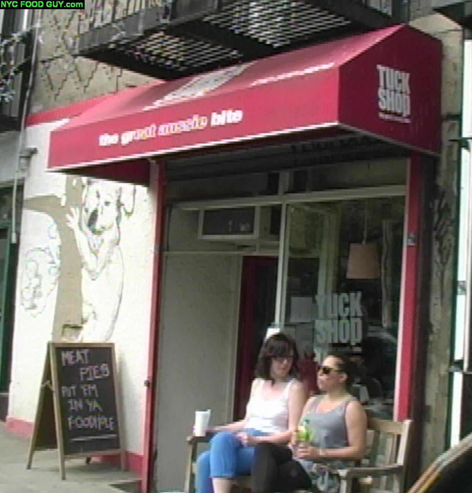 Tuck Shop: The Great Aussie Bite   NYC Food Guy