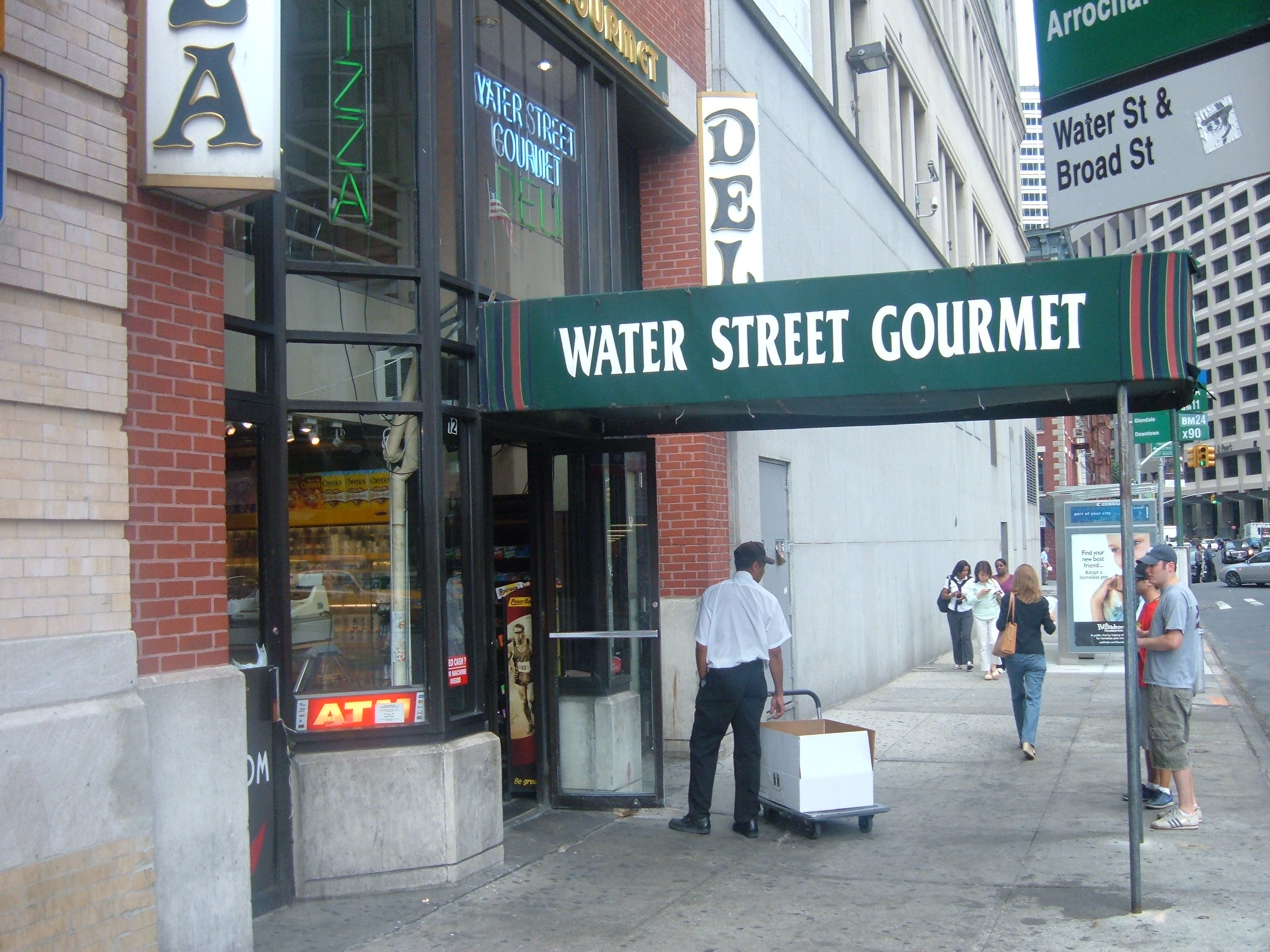 Financial District Lunch: Tabasco Chicken Over Rice at Water Street ...
