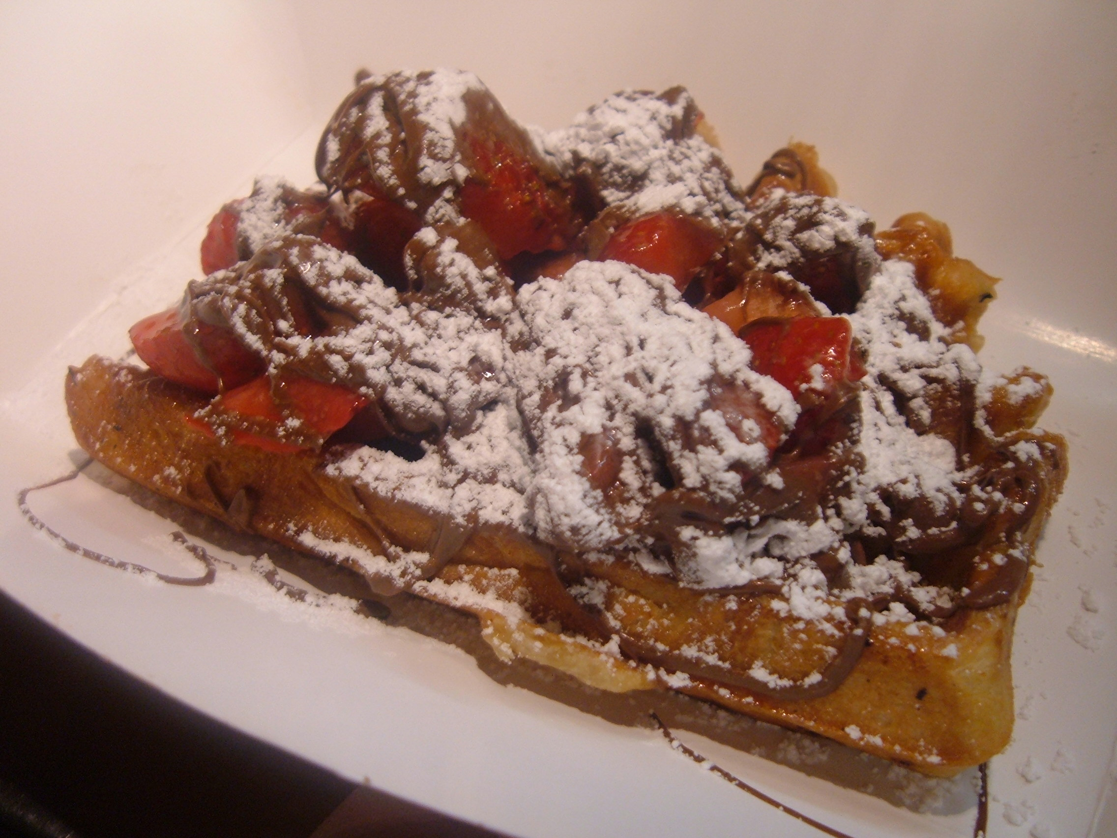 Wafels Amp Dinges Truck Cinnamon Liege Wafel Is Better Than