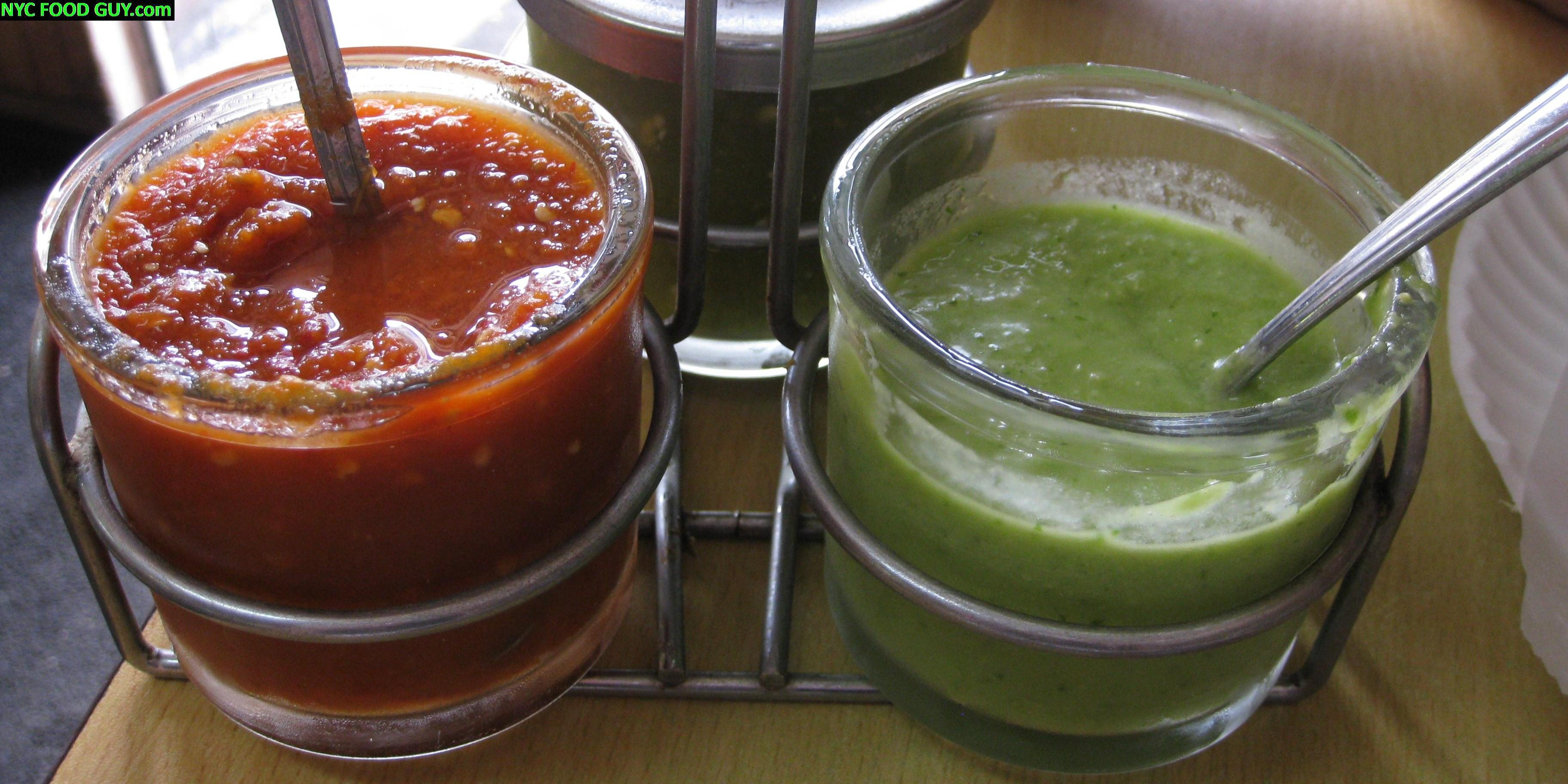 Tasty but uninspired salsas