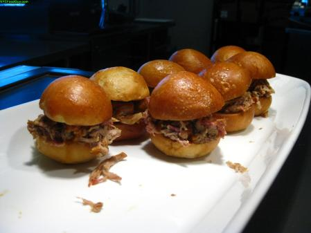 Come Opening Day, the pulled pork sandwich will grow in size