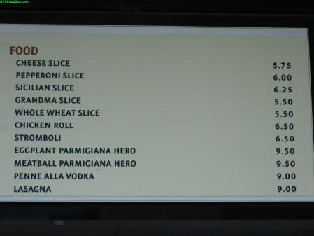 The only downside to the slices are the prices