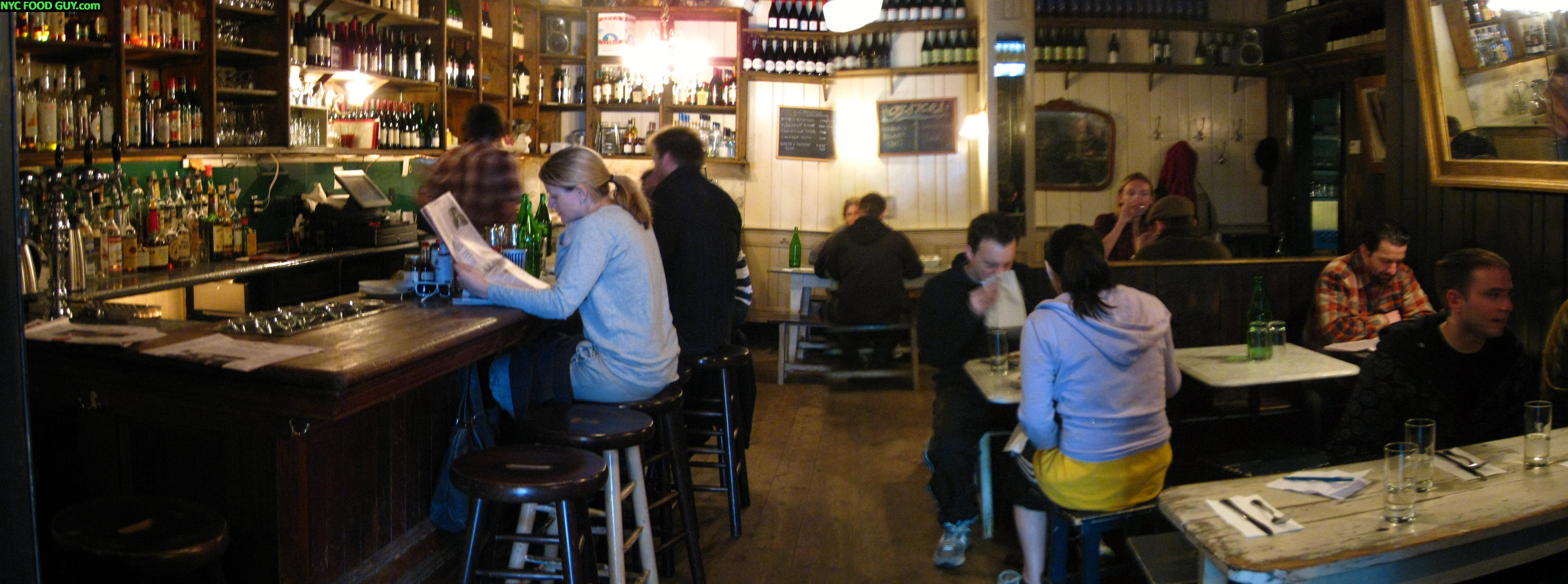 Marlow & Sons Dining Room Interior