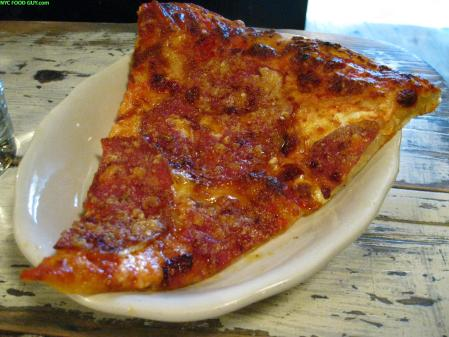 Sopressata & Cheese Pizza at Marlow & Sons