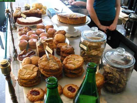 Front of the room fare - Desserts, Scones & Muffins from Marlow & Sons
