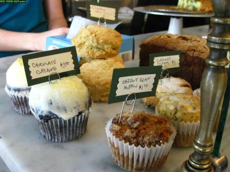 Front of the room fare - Cupcakes, Muffins & Scones at Marlow & Sons