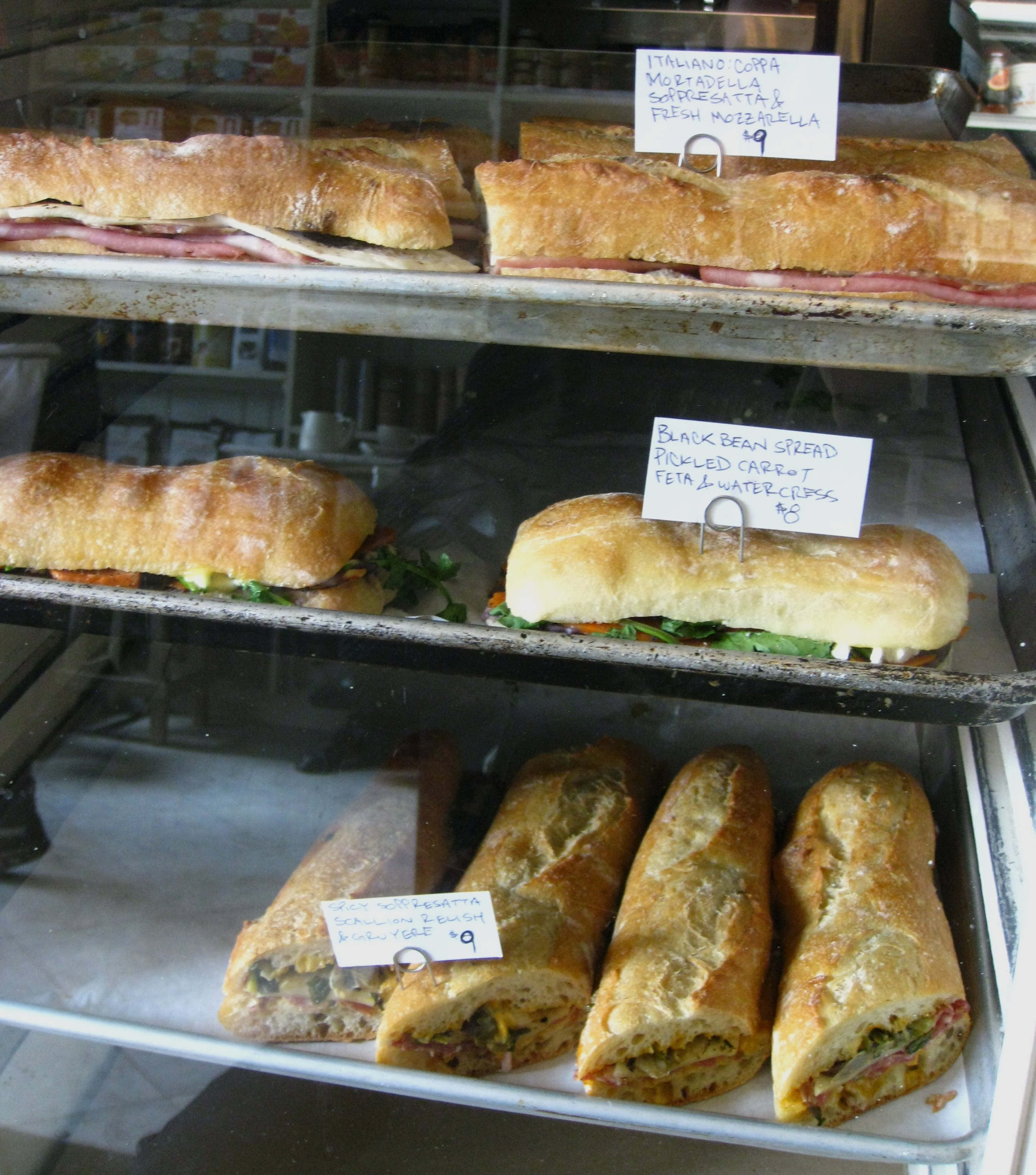 Front of the room fare - Sandwiches at Marlow & Sons