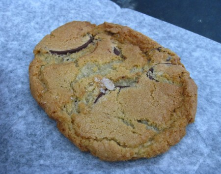 Front of the room fare - Chocolate Chip Cookie from Marlow & Sons
